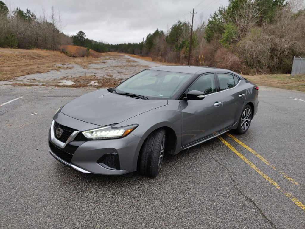 Rental Car Review 2019 Nissan Maxima Sv The Thing About Cars